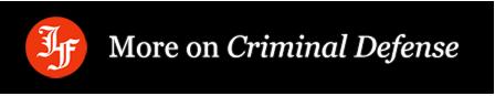Read More on Criminal Defense
